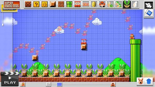 Get tempted with the upcoming horrid game that Nintendo will be releasing in 2105 ─ the Mario Maker. Prepare yourself with violent hammer