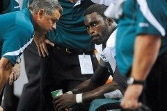 Will Michael Vick be back for this week's game against the NY Giants?
