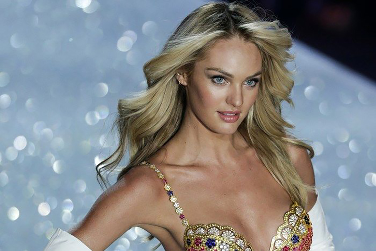 A Very Pregnant Candice Swanepoel Shows Off Her Baby Bump!