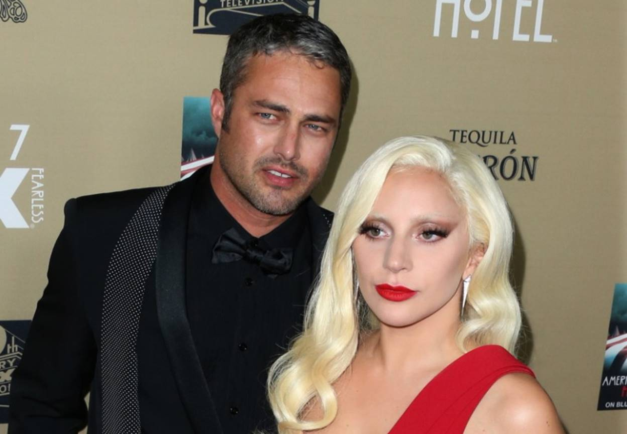 taylor kinney with lady gaga