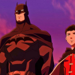 While not strictly anime, The newest animated DC film, Son of Batman, has recently been released. While getting average views, fans of