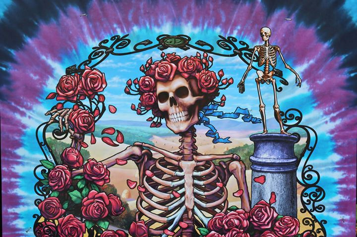 """The last song the Grateful Dead performed on Sunday night at Soldier Field- the band`s farewell, 50 years after it was founded -was """"Attics"""