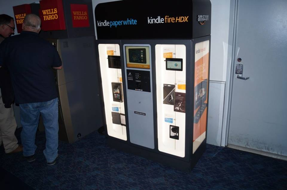 Amazon Sets Up Vending Machine to Sell Kindle Tablets and eReaders – good or bad idea?