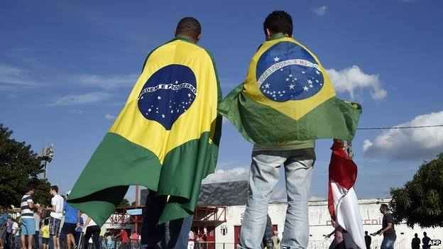 Brazilian President Dilma Rousseff says her country is ready, on and off the pitch, for the football World Cup which starts on Thursday. In