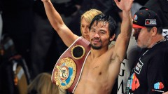 """Pac Man""  has been able to rattle off a pair of unanimous decision wins over Brandon Rios and Timothy Bradley, after a dreadful 2012 fight"