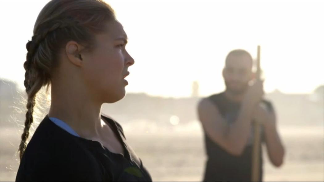ESPN filmmakers Nadine Mundo and Rena Mundo Croshere profiled UFC women's bantamweight champion Ronda Rousey in the latest installment of