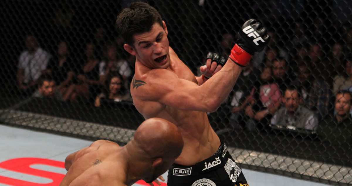 """""""I don't allow things that don't serve me in a positive way enter my mind. I expel them immediately."""" – Dominick Cruz."""