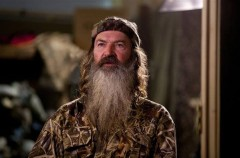 "AandE has suspended ""Duck Dynasty"" star Phil Robertson following anti-gay comments he made in a recent GQ profile. In an interview with GQ,"