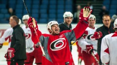 The Charlotte Checkers reported this afternoon that they have signed former Carolina Hurricanes forward, Chad LaRose, to a one-year AHL