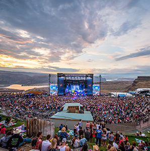 Sometimes beautiful backdrops provide the best acoustics. Here are the coolest music venues: