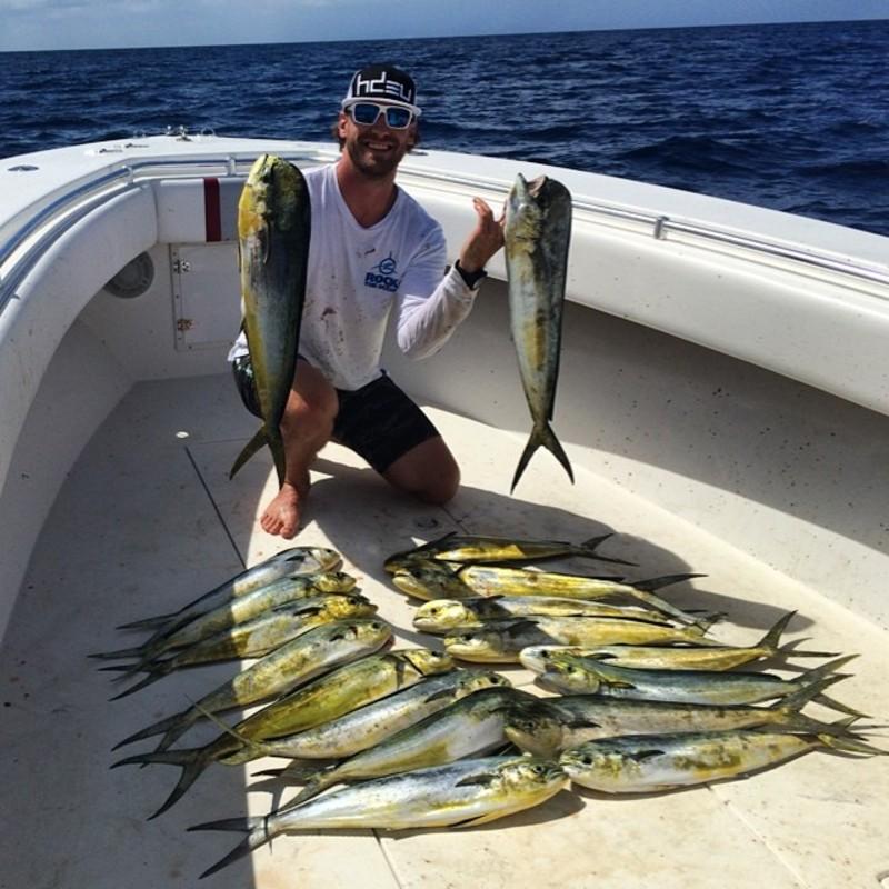 Chase Rice Fishing