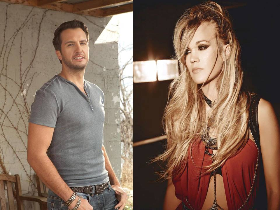 luke bryan and carrie underwood