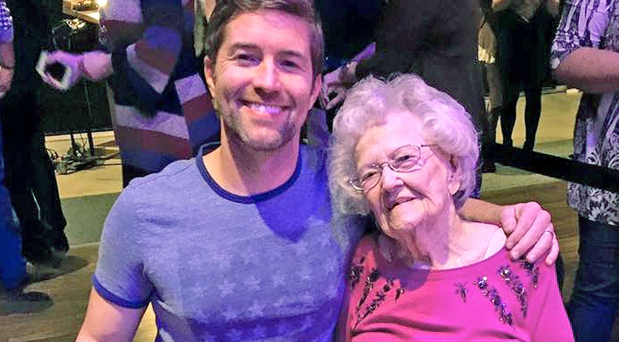 This past Friday (Feb.19th) Josh Turner brought his grandmother-in-law on stage with him.