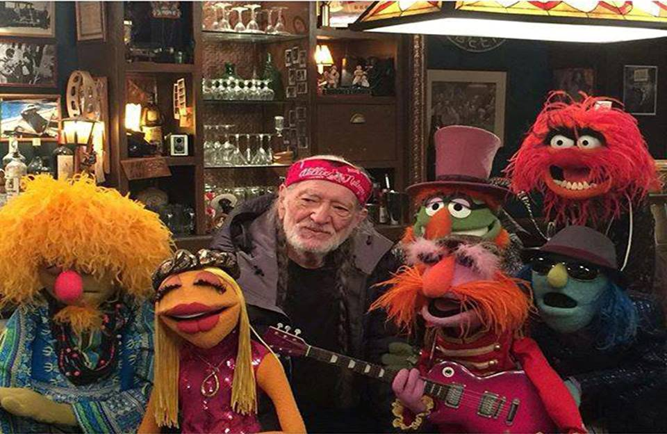 willie nelson and muppets