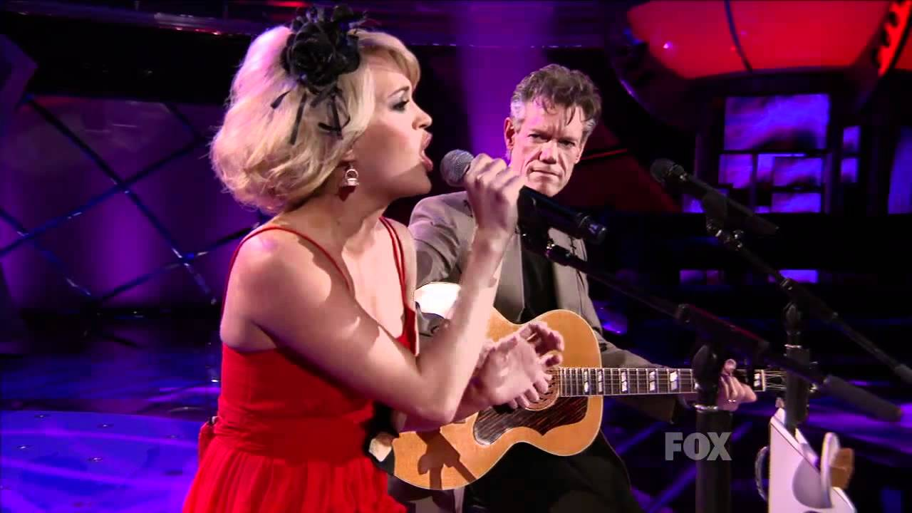 carrie underwood and randy travis