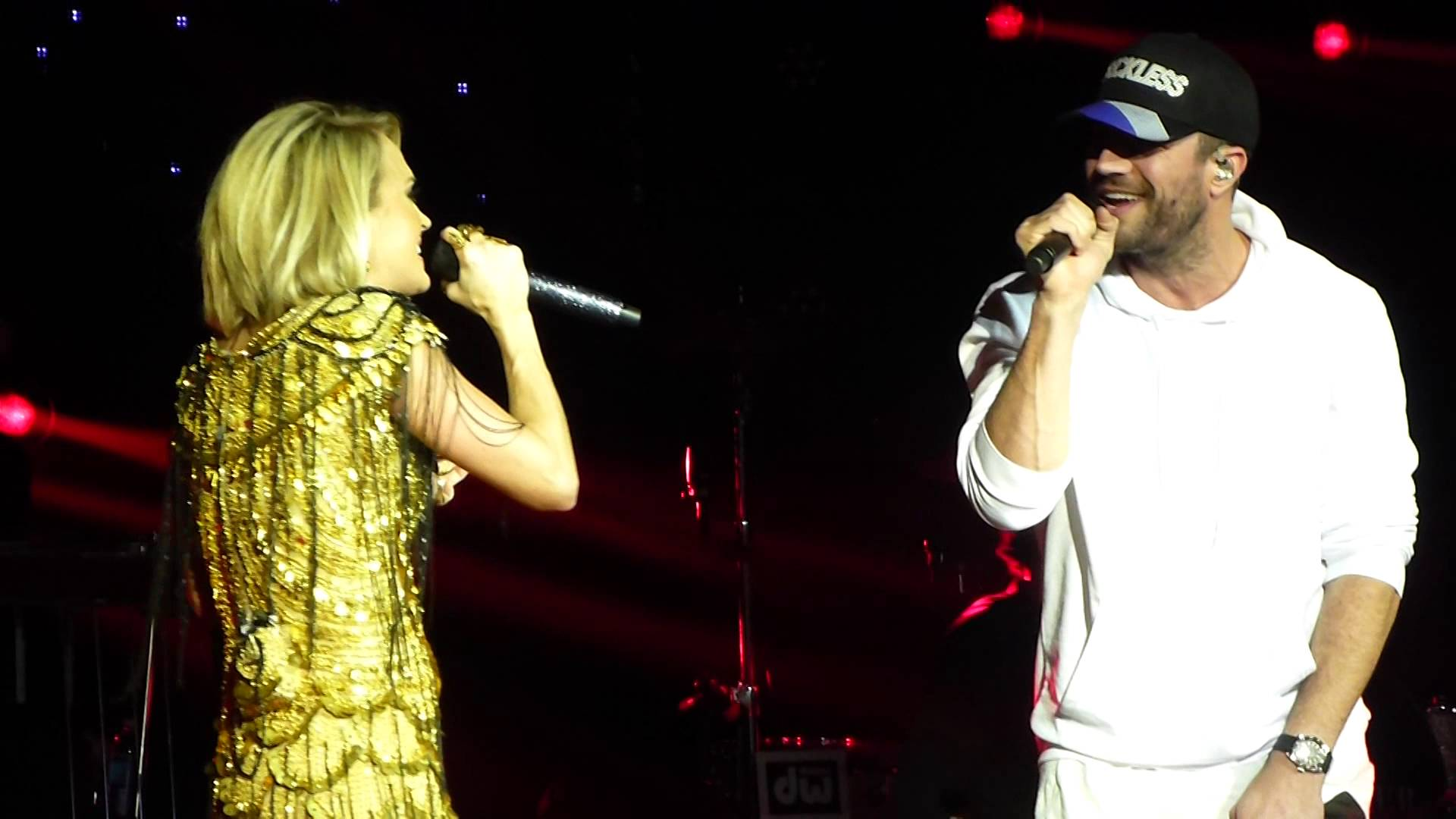 carrie underwood and sam hunt