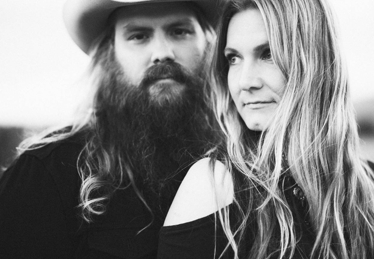 chris stapleton and wife morgane stapleton