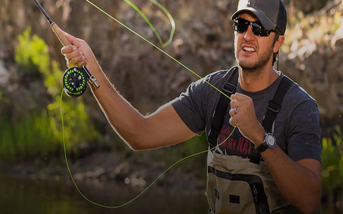 luke bryan fishing