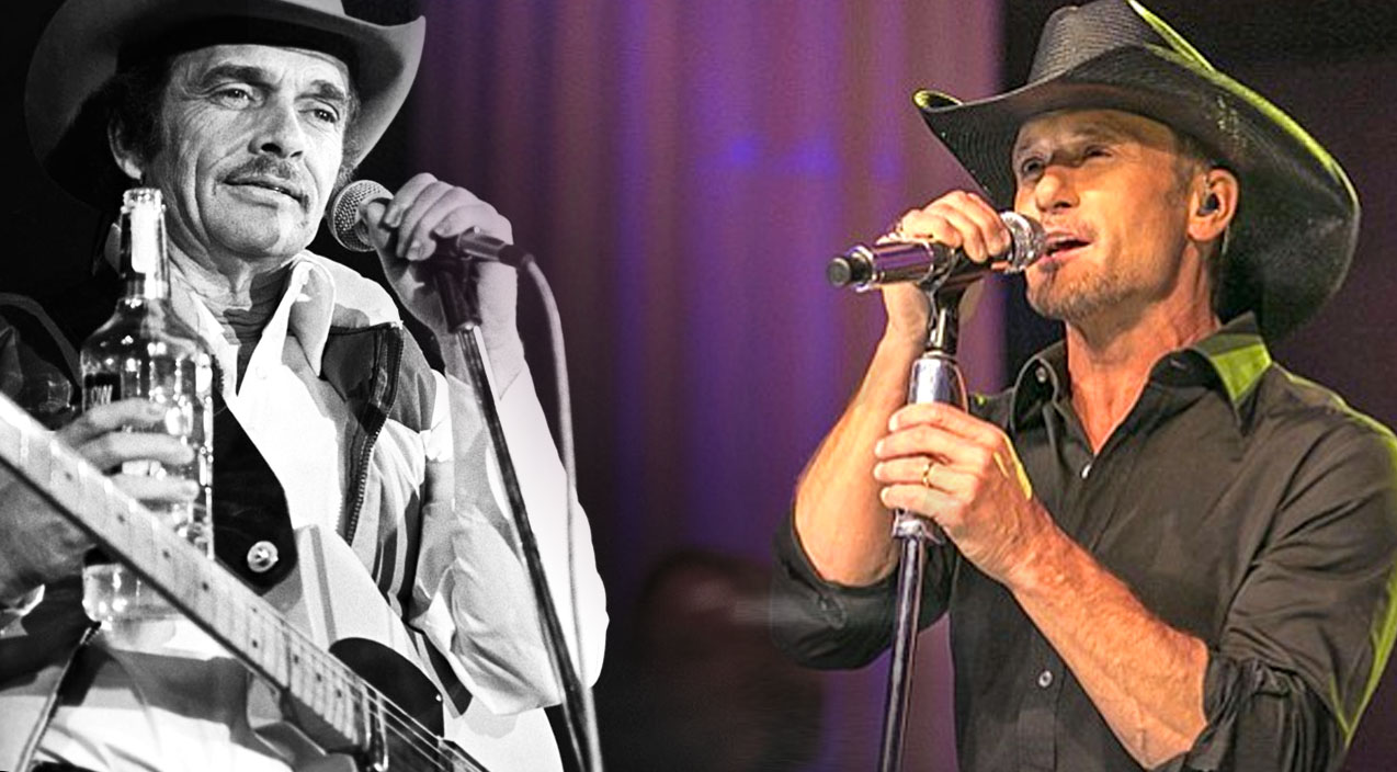 Tim McGraw and Merle Haggard