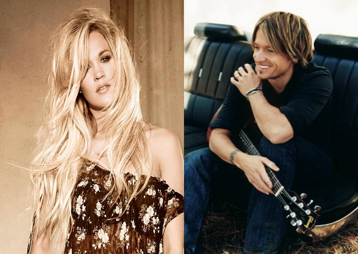 keith urbanand carrie underwood