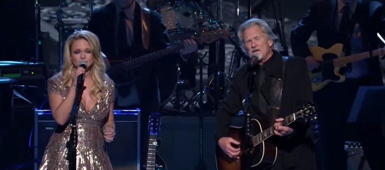 Miranda Lambert and Kris Kristofferson