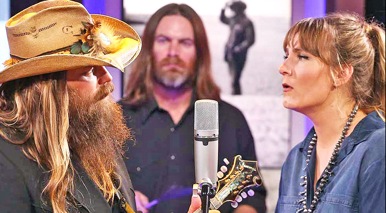 Chris Stapleton covers Silver Wings