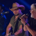 Jason Aldean and Bob Seger perform