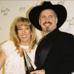garth brooks with ex-wife sandy mahl