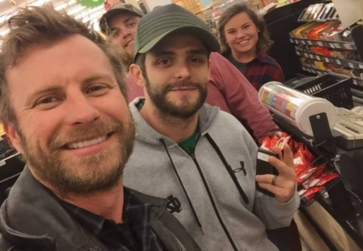 dierks bentley and thomas rhett