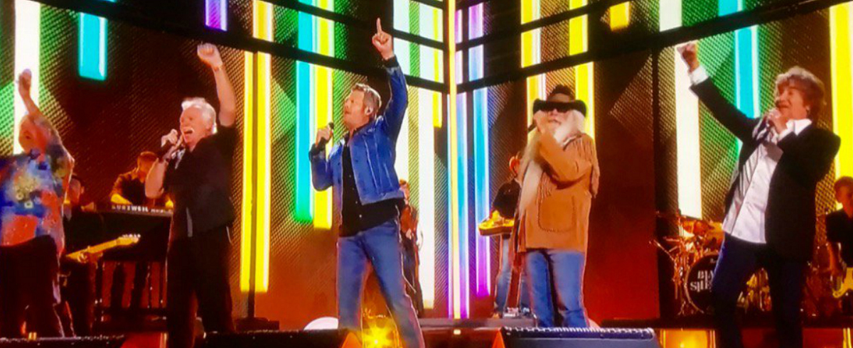 Watch The Oak Ridge Boys Perform with Blake Shelton at the 2016 CMT Awards