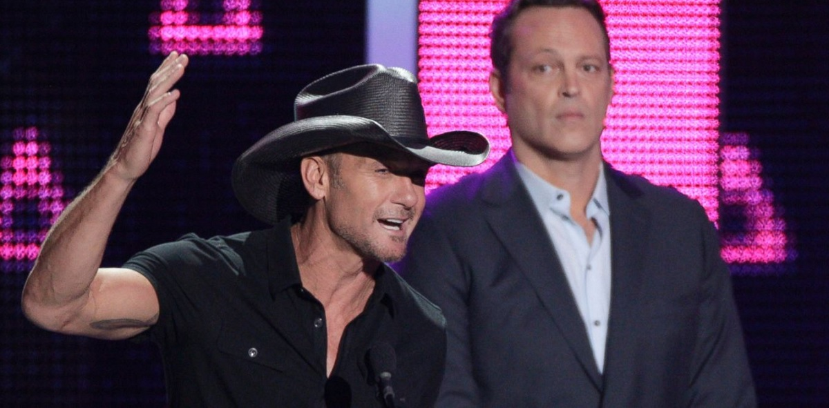 Tim McGraw had the Cutest Date at the 2016 CMT Awards