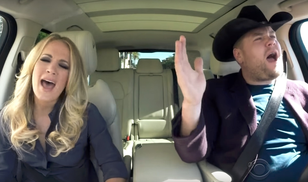 Carrie Underwood's Carpool Karaoke versus the Original Song Performances