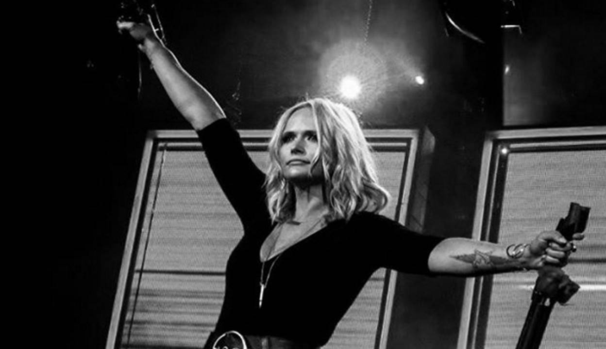 MIRANDA LAMBERT first time hearing song on radio