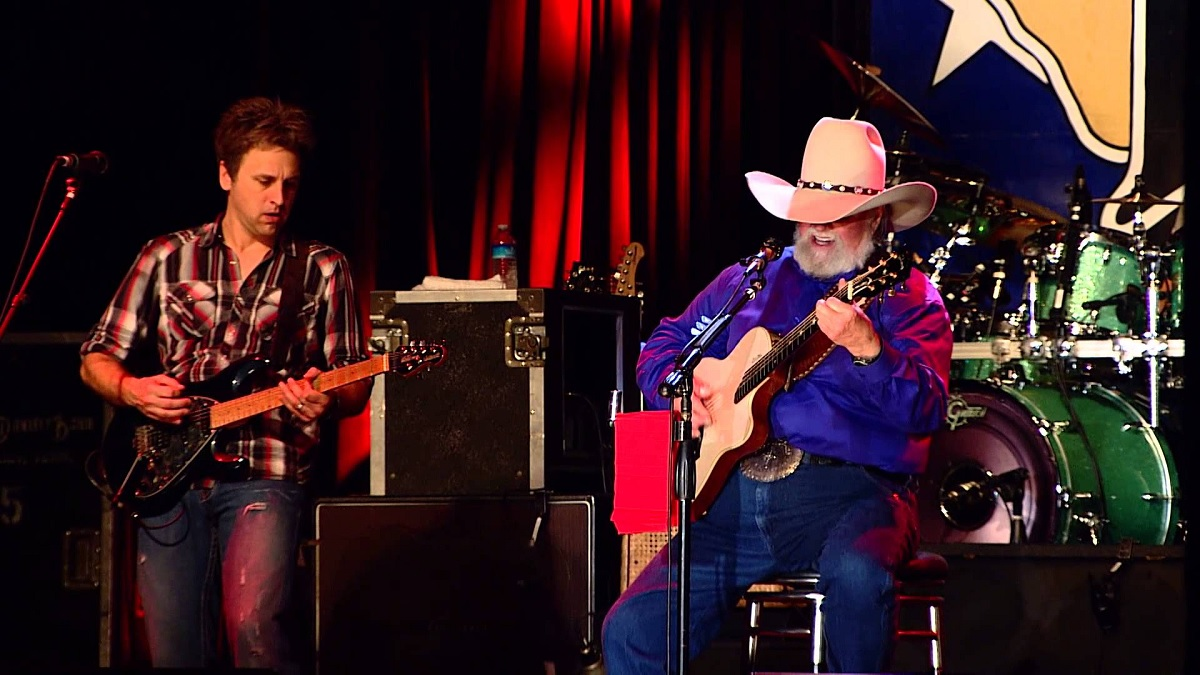 "Charlie Daniels ""Long Haired Country Boy"""