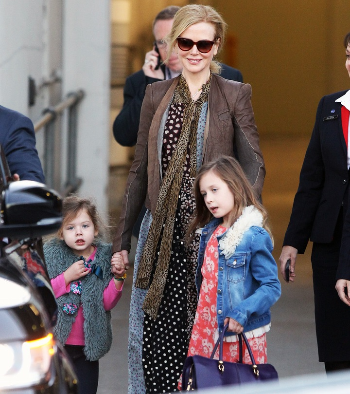 nicole kidman with children