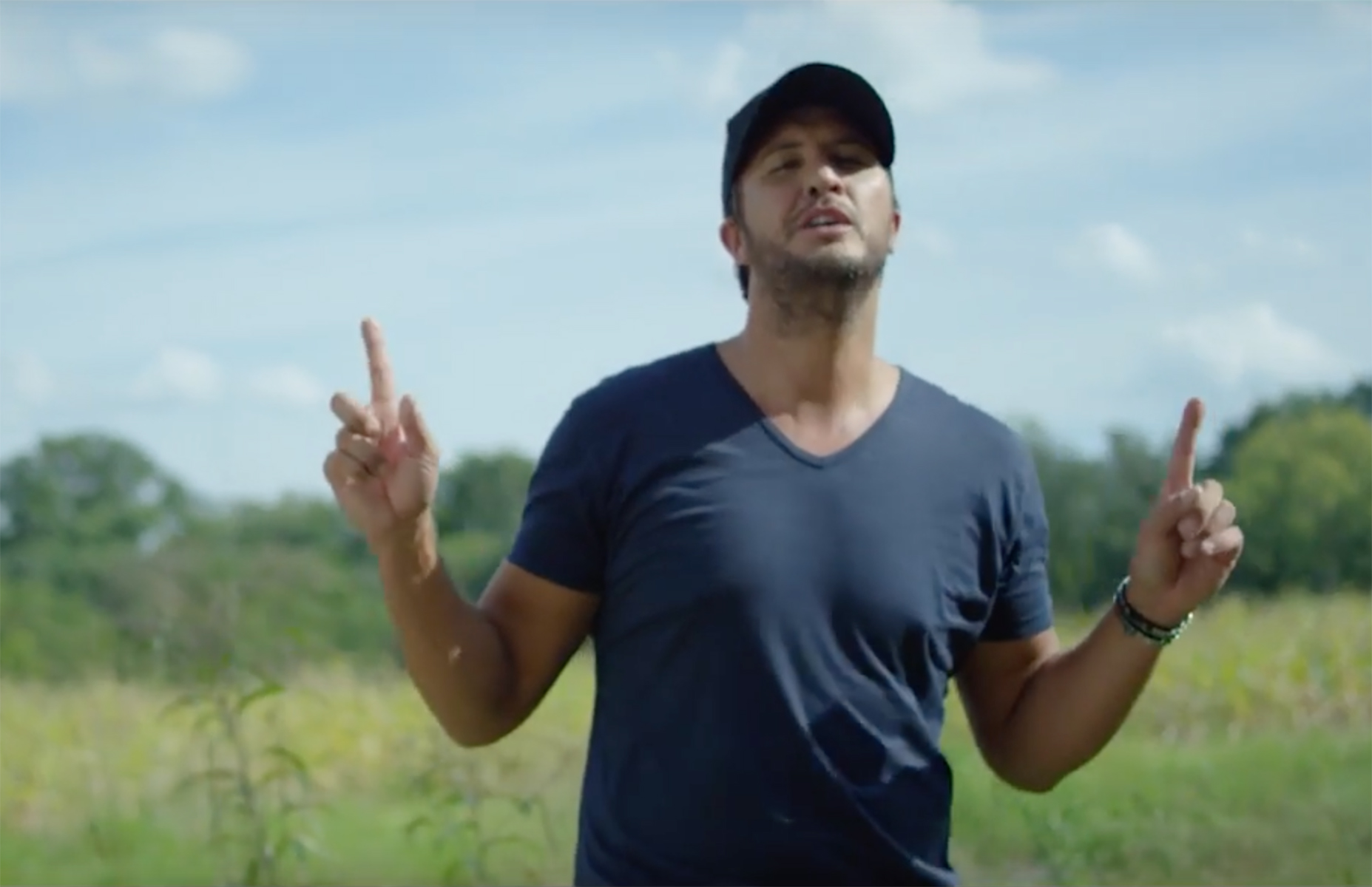 "Watch Luke Bryan's New Video For ""Here's To The Farmer"""