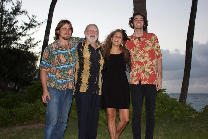 willie nelson wife sons