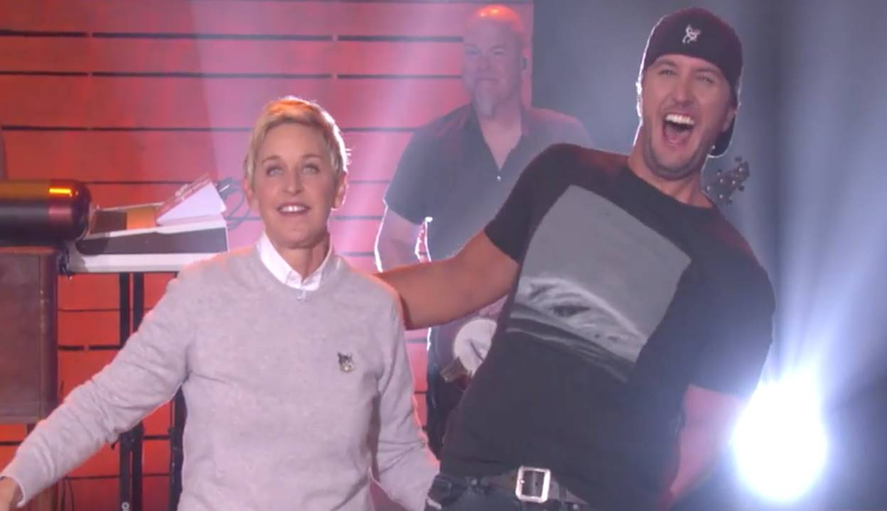Luke Bryan The Ellen DeGeneres Show