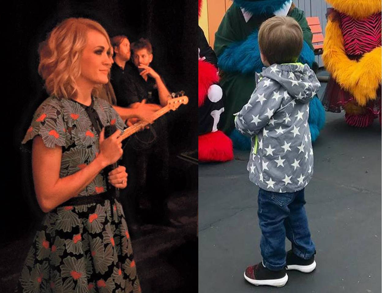 carrie underwood son isaiah