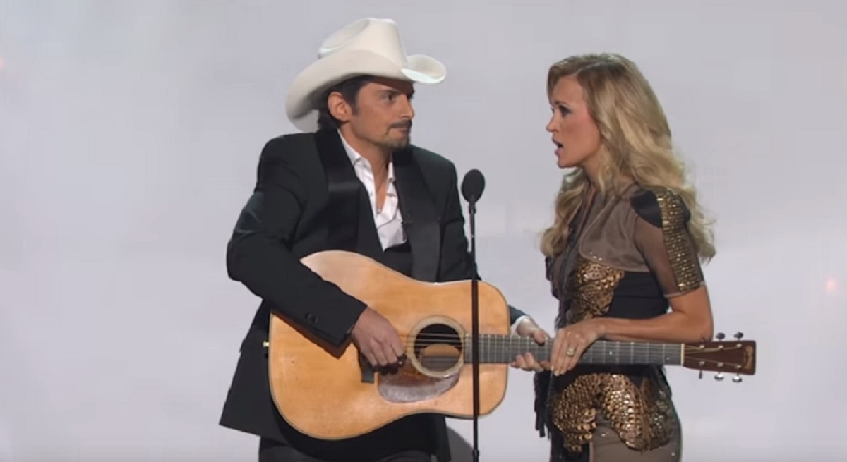 Brad and Carrie CMA Awards