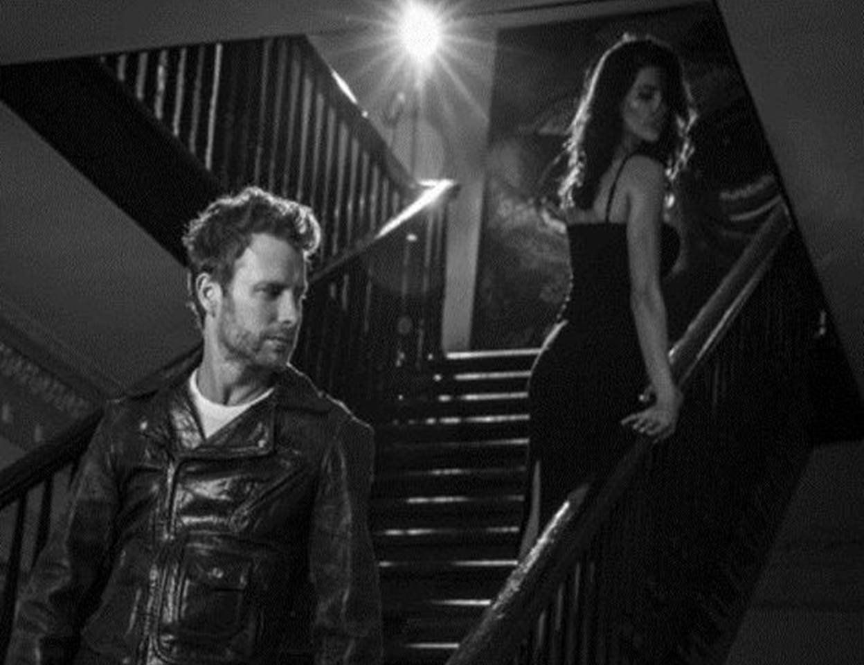 "dierks bentley debuts sultry ""black"" music video"