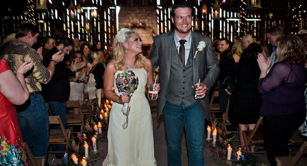 Blake Shelton and Miranda Lambert Wedding