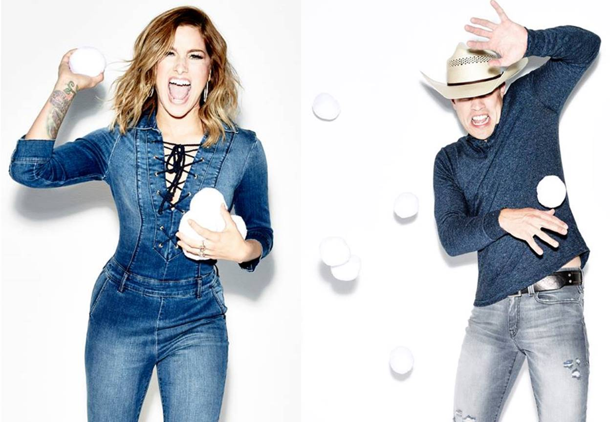 cassadee pope dustin lynch, lip sync battle