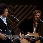 Kris Kristofferson and Johnny Cash Sunday Mornin' Comin' Down