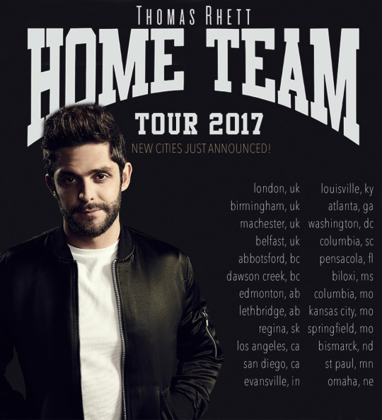 Thomas Rhett tour