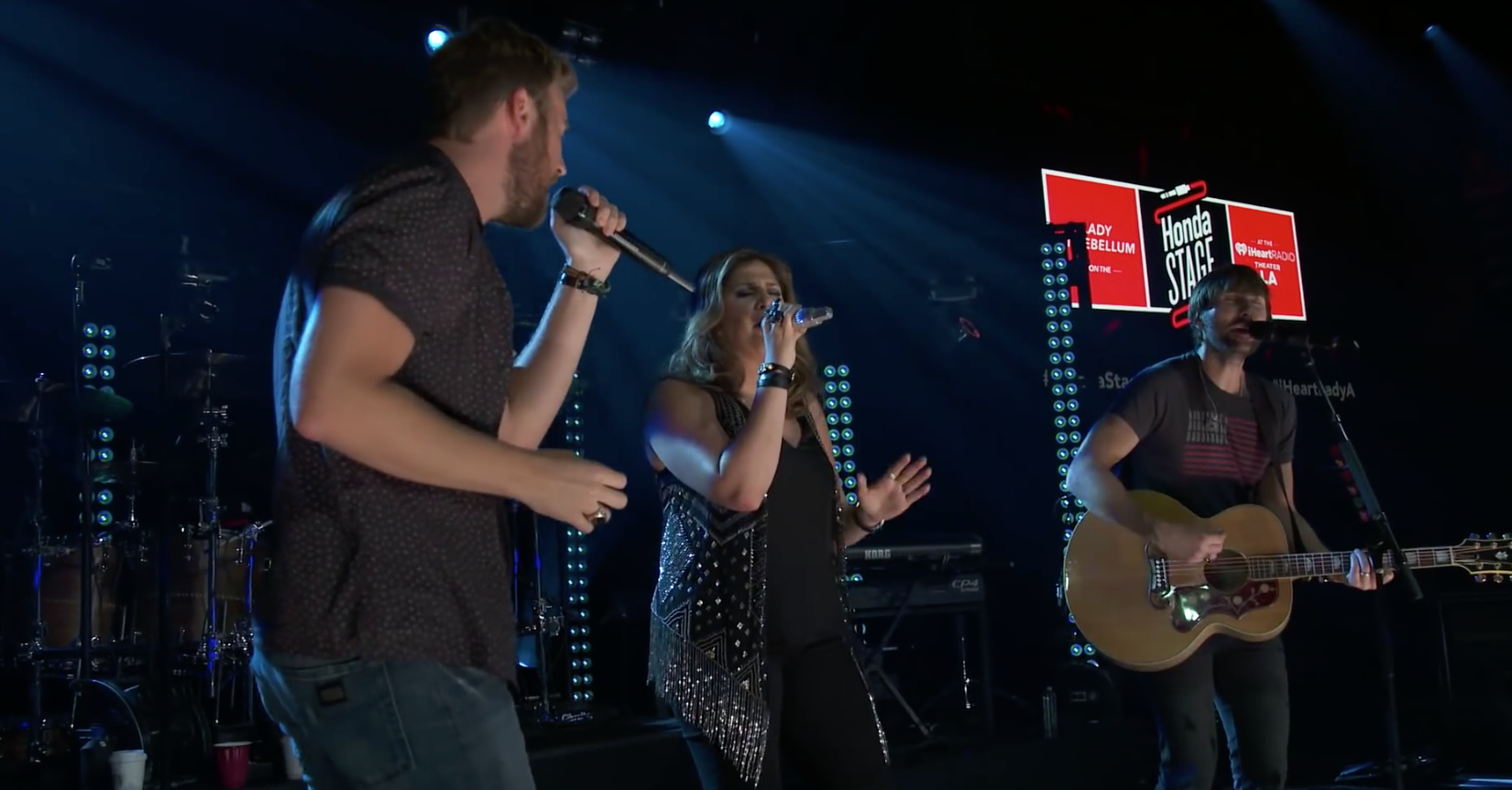 Lady Antebellum Performs at Honda iHeartRadio Stage