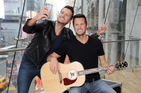luke bryan wax figure