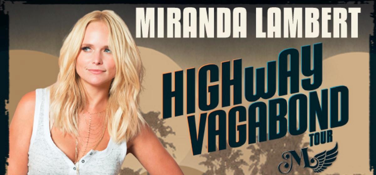 Miranda Lambert Tour 2017