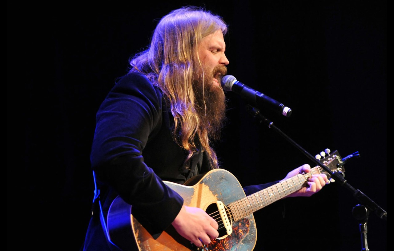 CHRIS STAPLETON SOLO SINGLE