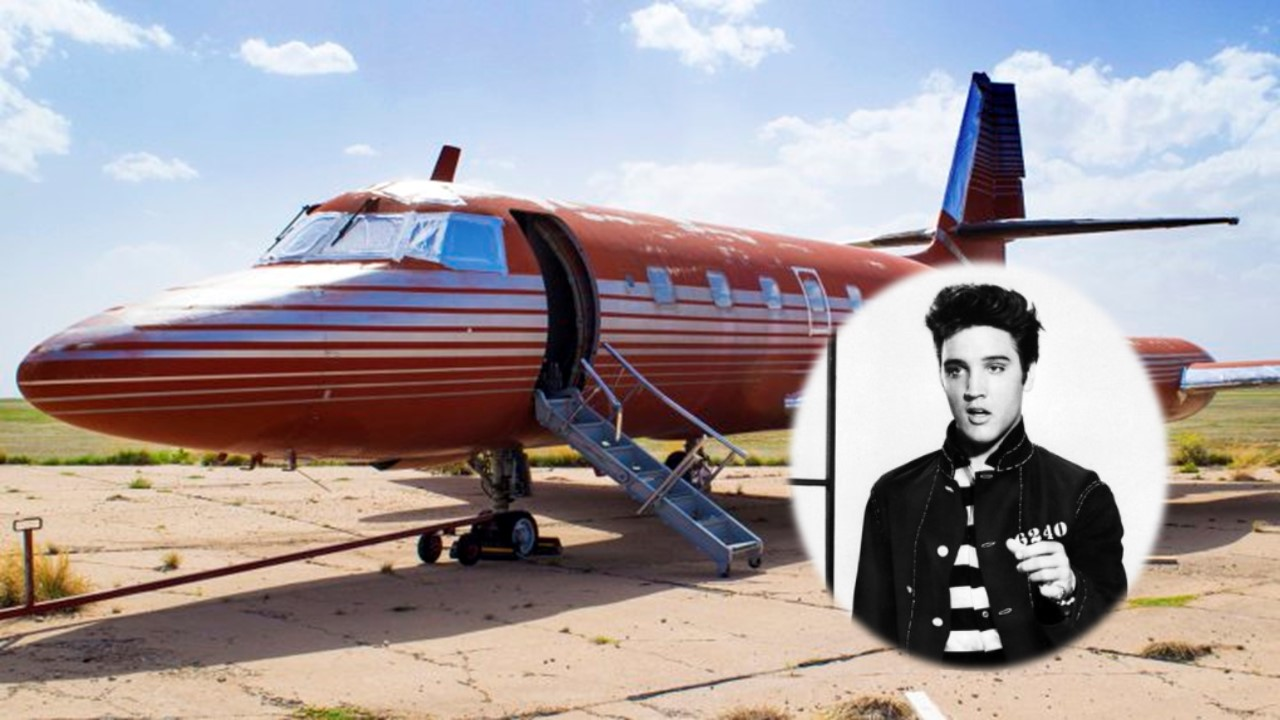 Elvis Presley's Custom Plane Sold at Auction